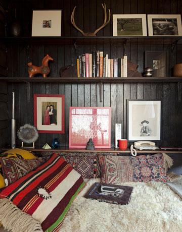 Bohemian Lounging = Kilim Pillows
