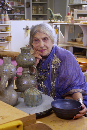 Beatrice Wood in Santa Monica and The Craft and Folk Art Museum