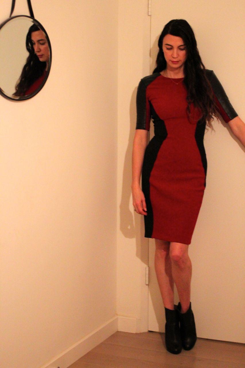 Red dress zara philadelphia