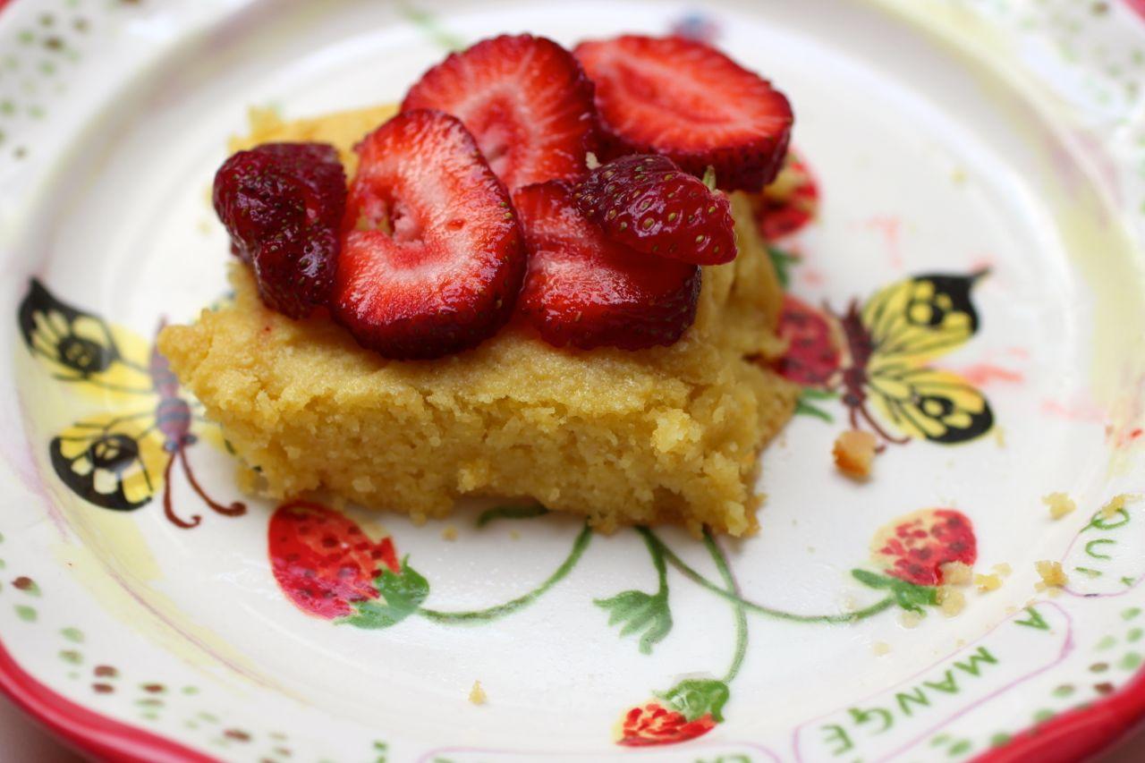 Almond Cake Recipe | Wheat Free, Organic Almond Cake by ...