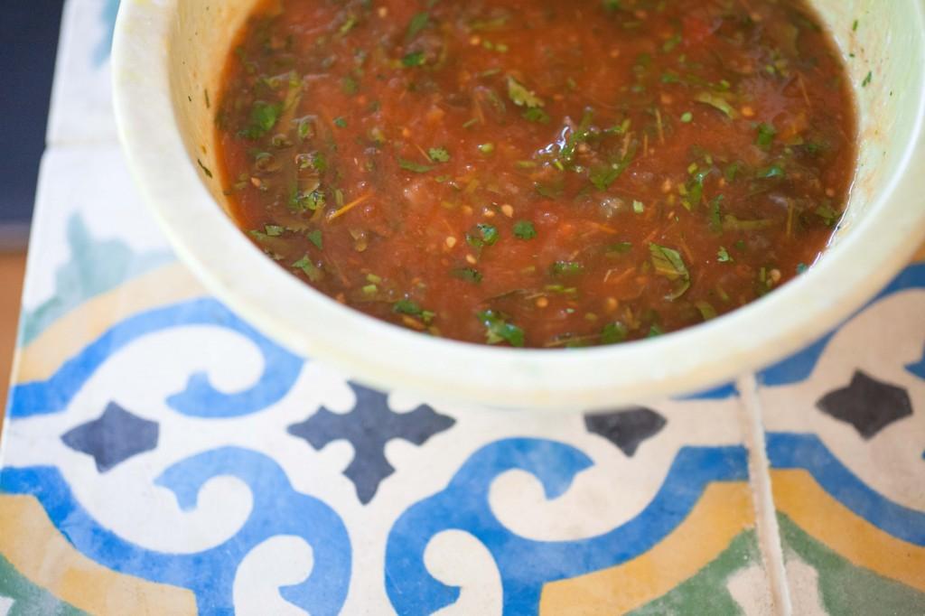 salsa, homemade salsa, beatrice valenzela