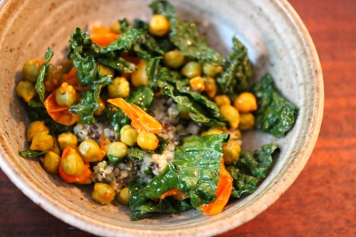 chickpeas, rice bowls, vegetarian recipes