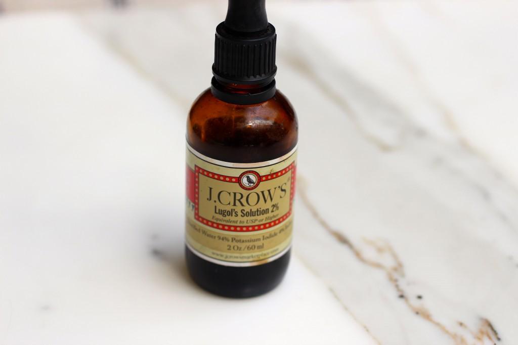 Iodine drops, iodine to prevent radiation,