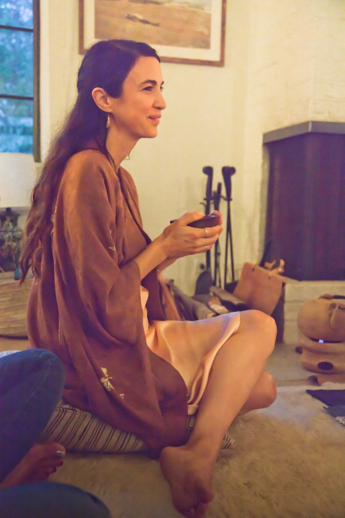 Baelyn Neff, Shiva Rose, Tea ceremony