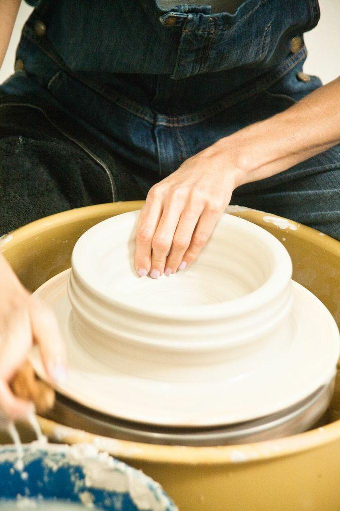 victoria morris pottery, commune pottery