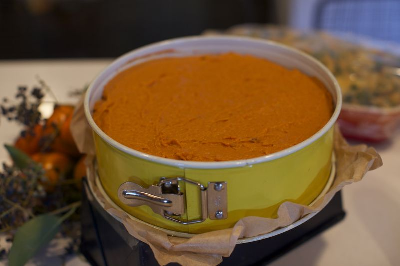 vegan thanksgiving, sweet potato pie, kitchen mouse