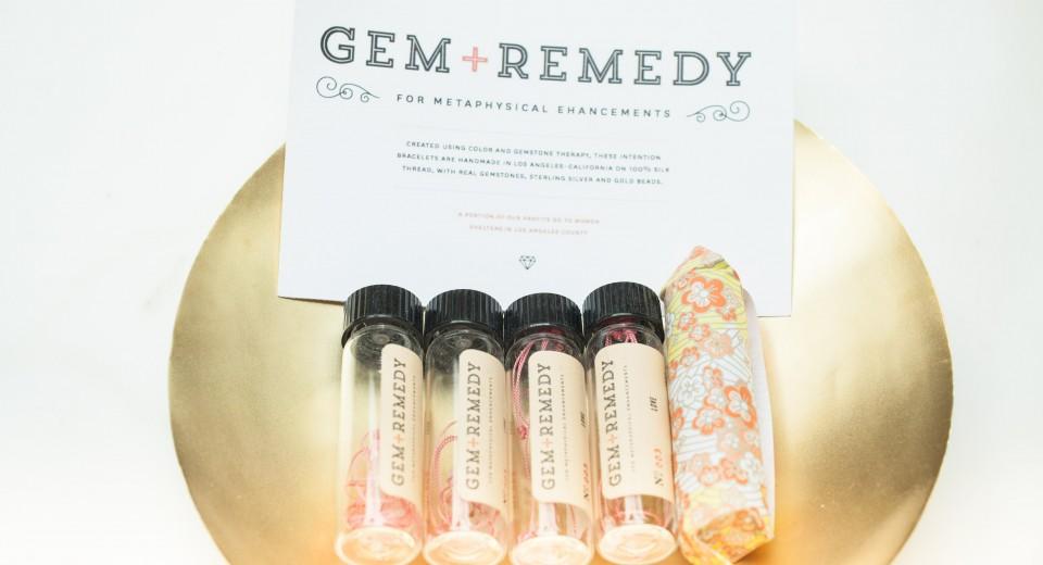 Gem ~ Remedy Bracelets