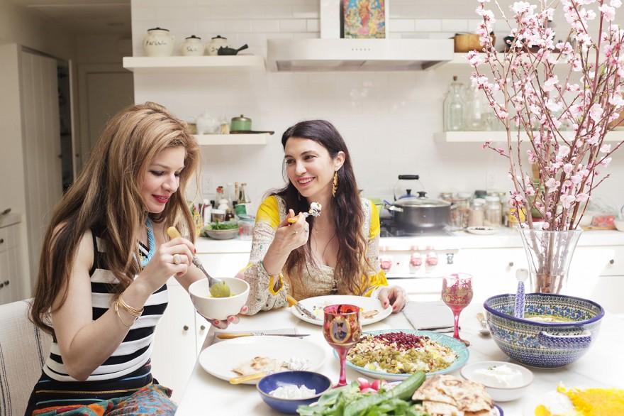 shiva rose, tadeegh, persian cooking