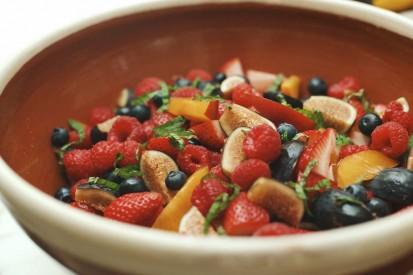 fruit salad, summer party