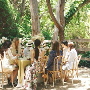The Local Rose invites her close friends to an afternoon garden party, sharing summer entertaining tips and serving up seasonal recipes.