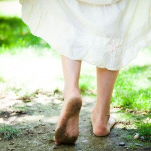 """The Local Rose shares the many benefits of Earthing, the theory that walking barefoot outside will """"ground"""" us and make us healthier."""