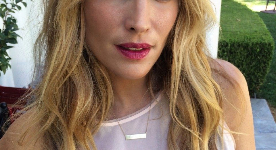 Autumn Lips ~ Molly Sims