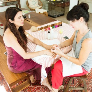 The Local Rose shares an interview with the founders of Côte Salon, offering affordable and toxic-free manicures and pedicures using Sheswai Lacquer.