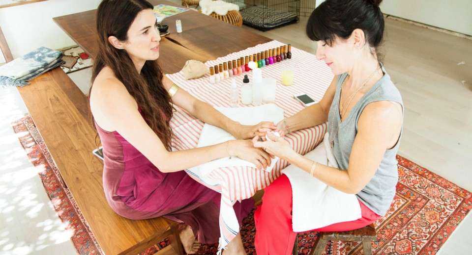 Manicures with Sheswai & Côte Salon