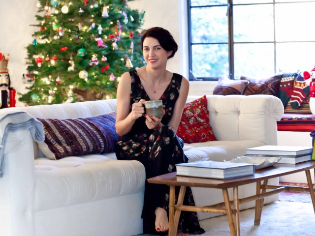 "The Local Rose shares holiday memories from her childhood and a few ""green"" alternatives to traditional cut Christmas trees."