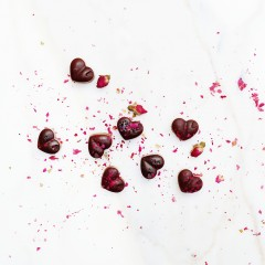 The Local Rose shares a special Valentine's Day recipe for raspberry rose chocolates from Venice based gourmet chocolatier, Zen and Bunni.