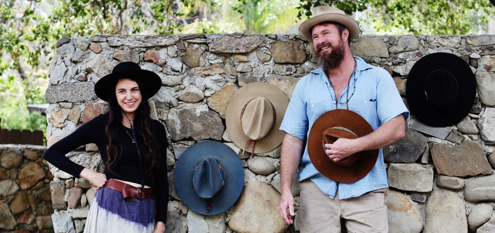 The Local Rose interviews the artisans who created Sam Roberts LA, handcrafting hats and accessories with a California cool, bohemian vibe.