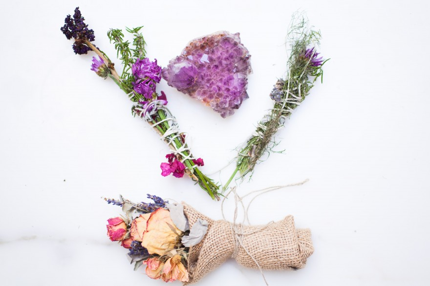 DIY Smudge Sticks & Seasonal Floral Arrangements