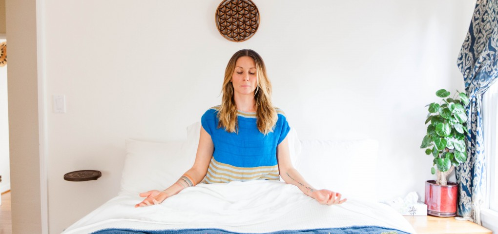 The Local Rose shares an interview with Lisa Chatham, owner of Green Heart Foods in San Francisco, who shares her morning meditation rituals.