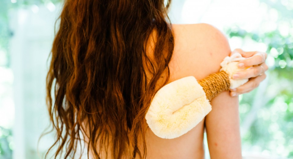 Skin Brushing For Health & Beauty
