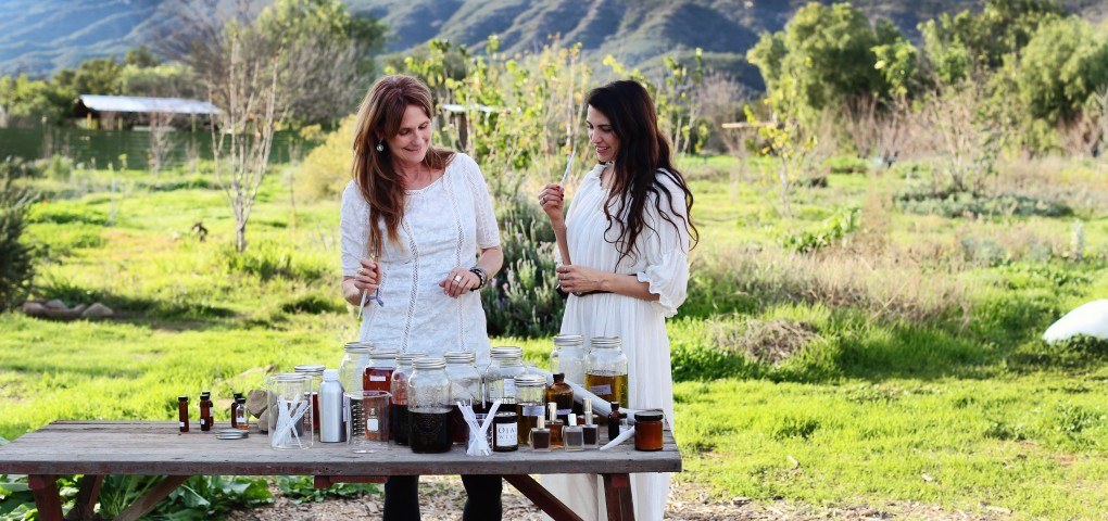The Local Rose shares an interview with Janna Sheehan who creates natural perfumes from plants that she gathers in Ojai.