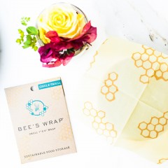 The Local Rose shares Bee's Wrap, a new, eco-friendly, toxin free way to wrap sandwiches, cheese, lemons, avocados, leftovers and more.