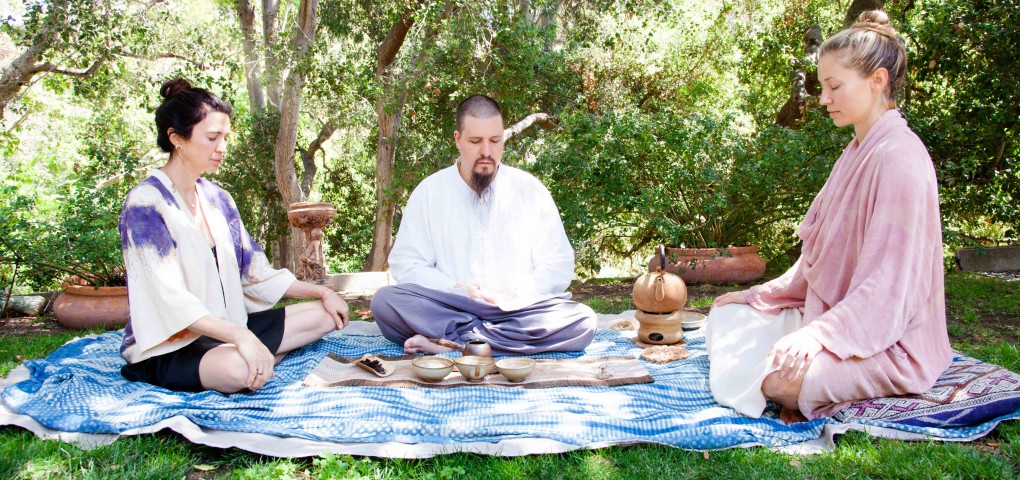 The Local Rose shares an ancient tea ceremony, promoting consciousness, ceremony, gratitude and ritual.