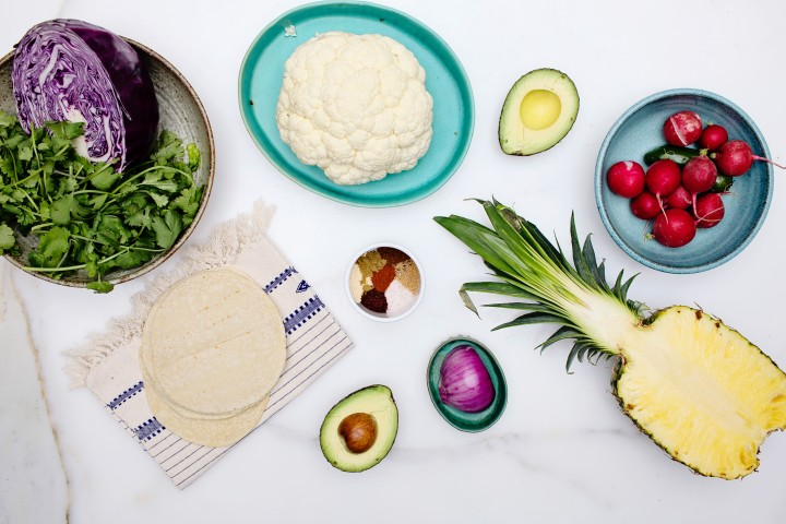 Chipotle Cauliflower Tacos
