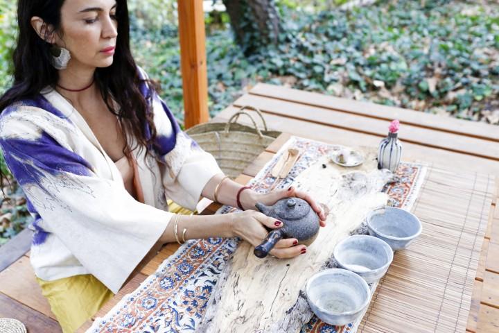 Shiva Rose and Tea